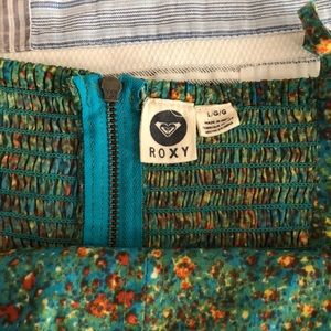 Roxy Dresses - Blue and Green Roxy sundress!